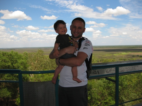 Pok and Daddy in the NT