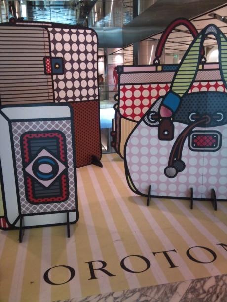 Real Life Comic Luggage
