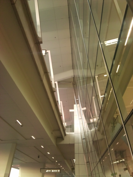 Leaning Glass Walls