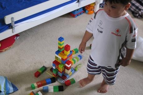 Lego Duplo Burj Khalifa - Crash