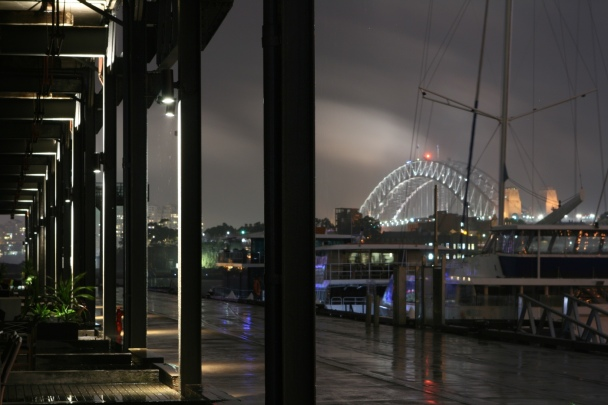 Rainy Night on Jones Bay Wharf 3