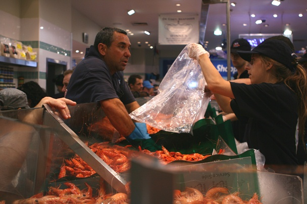 Sydney Christmas 2012 - Fish Markets #2