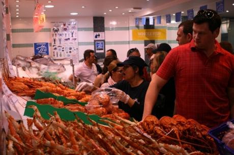 Sydney Christmas 2012 - Fish Markets #3