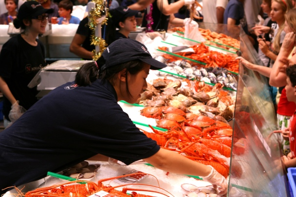 Sydney Christmas 2012 - Fish Markets #6