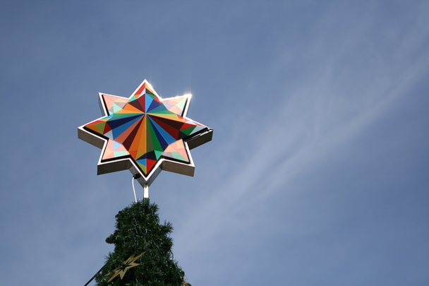 Sydney Christmas 2012 - Pyrmont Tree Star
