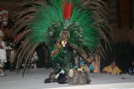 Mayan witch doctor