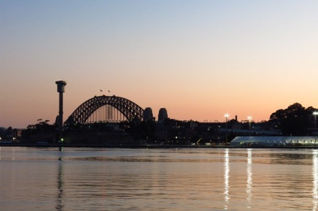 Riding - Sydney Harbour Bridge Sunrise