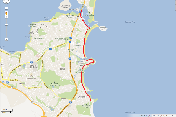 Shellharbour - Windang Bike Path