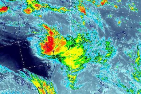 Cyclone Oswald Satellite Image - SE Queensland