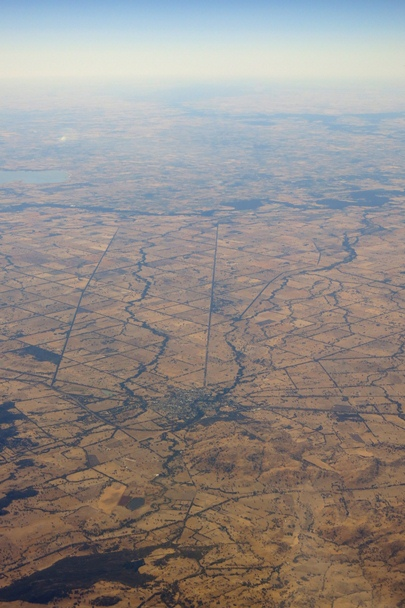 Barren Country NSW from the air - #1