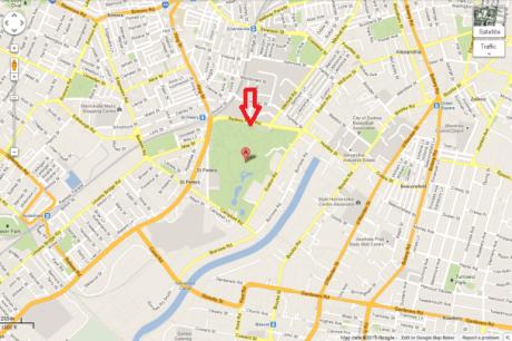 Sydney Park - Alexandria - Google Maps