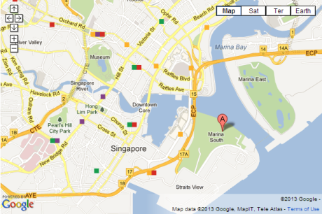 Google Maps - Gardens by the Bay