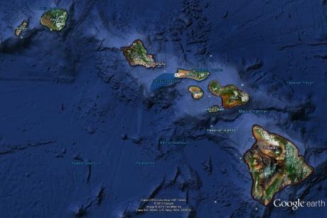 Hawaii - Google Earth