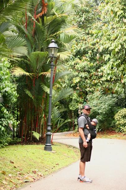 Singapore Botanic Gardens - Dad and Pok