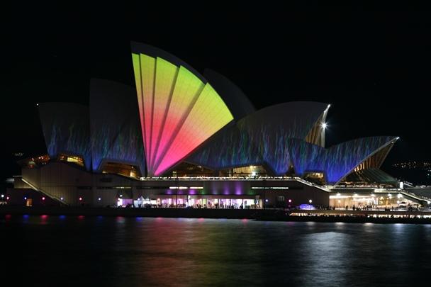 Sydney Opera House - Vivid 2011
