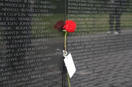 In Memory of a fallen Vietnam War soldier