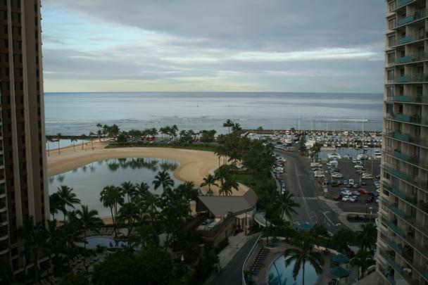 Oahu - Honolulu - Ilikai Balcony