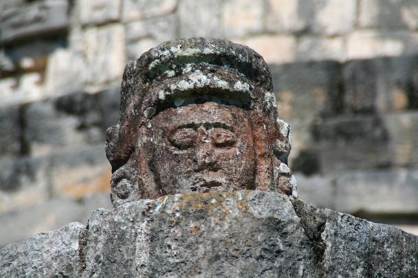 Chichen Itza - head