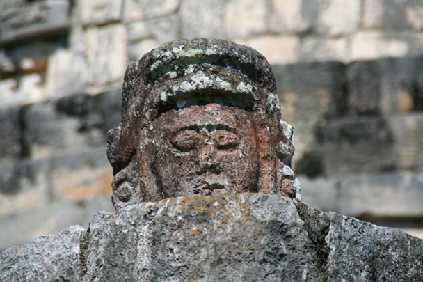 Chichen Itza - head