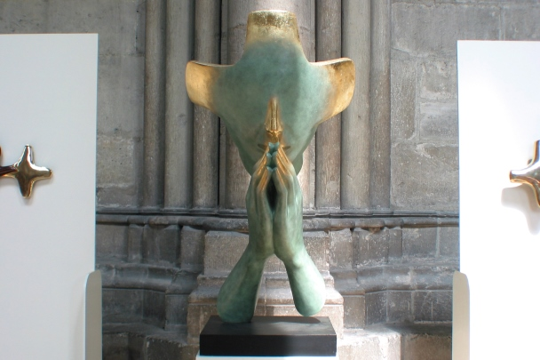 Reims - Cathedral sculpture