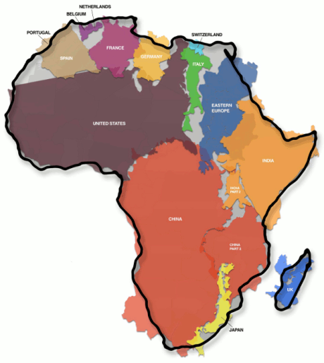 Africa-true-size-peters-projection